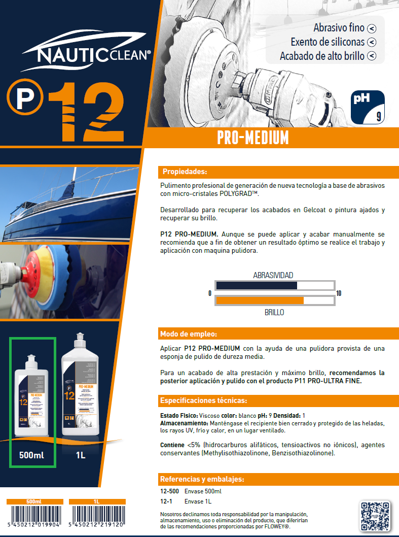 12 PRO MEDIUM 500ML