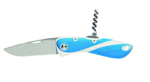 Aquaterra smooth knife blade + corkscrew WICHARD
