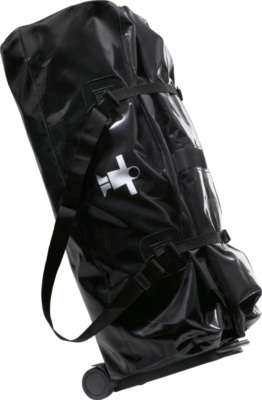 Waterproof bags Cargo 80L, with removable chariot Black