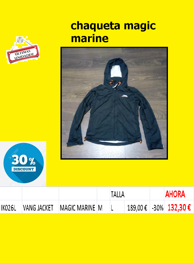 CHAQUETA-MAGIC MARINE