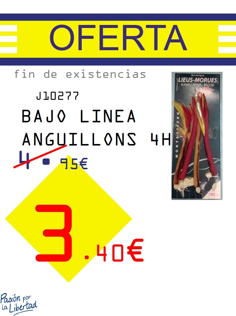 J-BAJO LINEA ANGUILLONS 4H