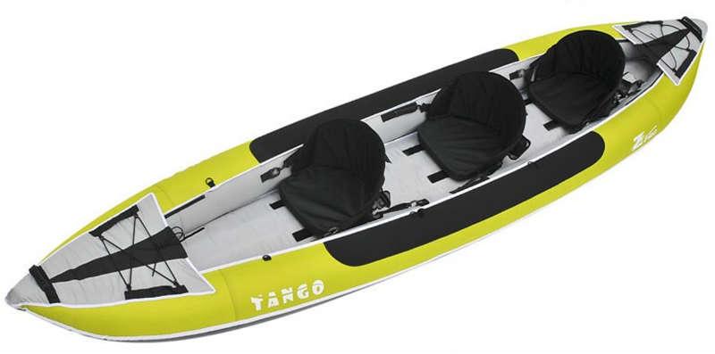Remo Kayak XT Aluminio-Fibra Desmontable Bravo 225 cm.