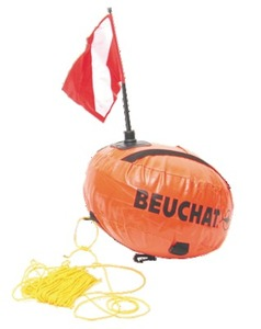 Buoy BEUCHAT underwater hunting
