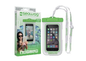 Watertight Case SEAWAG blanco y verde