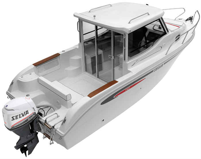 Fisherman Line F6.5 Cabin Plus + motor 100HP